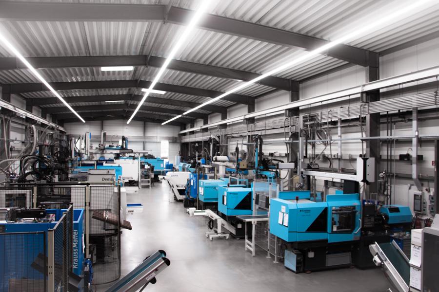 eine unserer Produktionshallen